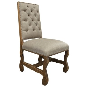 Chair w/Tufted Backrest