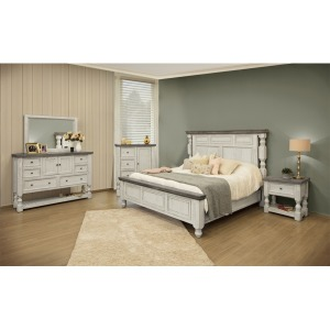 4 PC King Bedroom Set