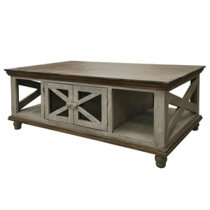 Florence Gray Cocktail Table
