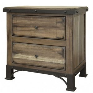 Durango 2 Drawer Nightstand