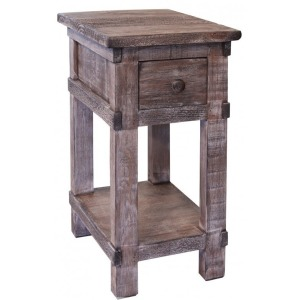 San Angelo Chair Side Table w/1 drawer