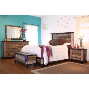 Antique 3 PC Twin Bedroom Set