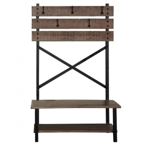 Hall tree - Bench w/Hooks