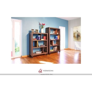 54in Bookcase with 3 shelves & Casters