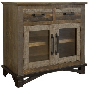Loft Brown 3 Drawer 2 Door Server