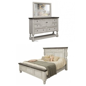 Stone 3 PC King Bedroom Set