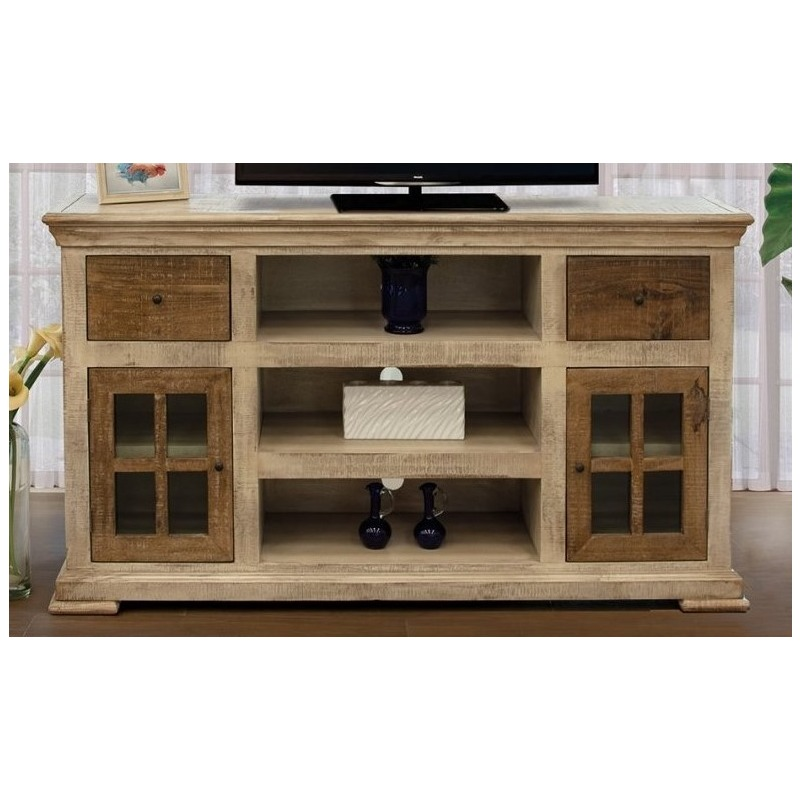 White Vintage 67 Tv Stand By International Furniture Direct