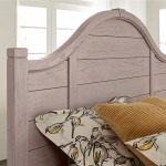 LMCO Bungalow Queen Arch Headboard in Dover Grey