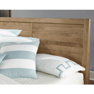 Sedgwick Queen Plank Headboard - Natural Maple