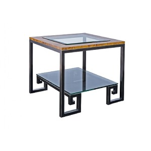 Green Key Square End Table