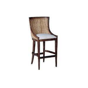 Lido Woven Barstool, fabric