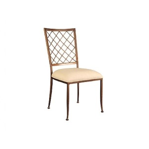 Quadrille Side Chair, fabric