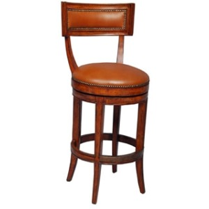 Aperitif Counter Stool, Leather