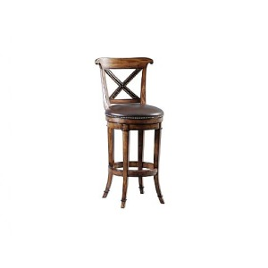 Ringo Barstool, leather, swivel