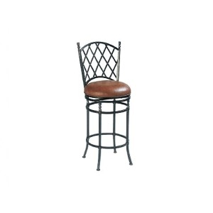 Cortez II Counter Stool, leather, swivel