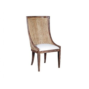 Lido Woven Side Chair, fabric