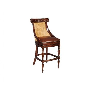 West Barstool, Leather