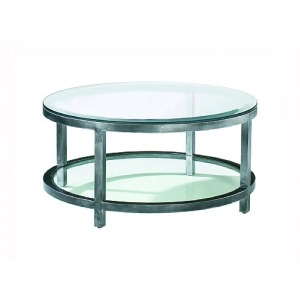Per Se Round Cocktail Table, glass