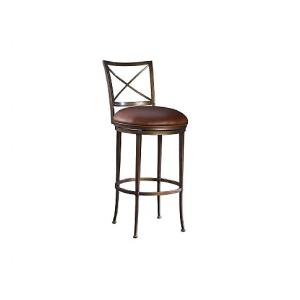 Greenwich Bar Stool, leather