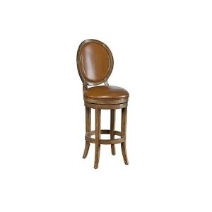 Axiom Upholstered Back Barstool, leather, swivel