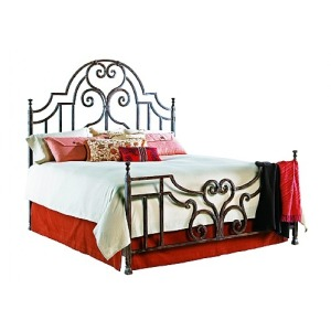 Ambrose CA King Bed, Complete