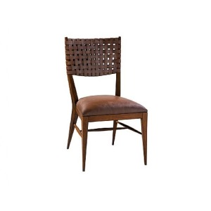 Milo Side Chair, leather