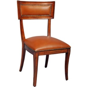 Aperitif Side Chair, Leather