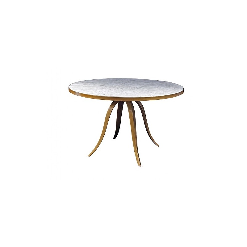 Crystal Stone Round Dining Table