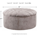 Carnaby Oversized Accent Ottoman
