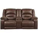 Carrarse Power Reclining Loveseat with Console