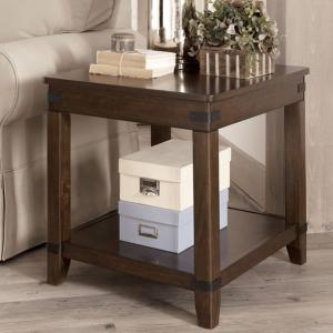 End Table w/Shelf