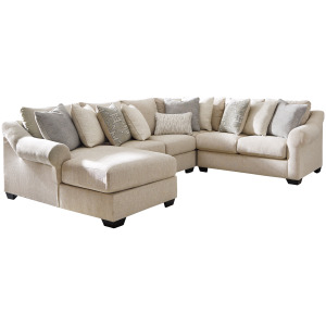 Carnaby 4-Piece Sectional with Chaise