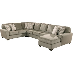 Patola Park 4-Piece Sectional with Chaise