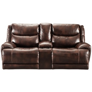 Blairstown Power Reclining Loveseat with Console