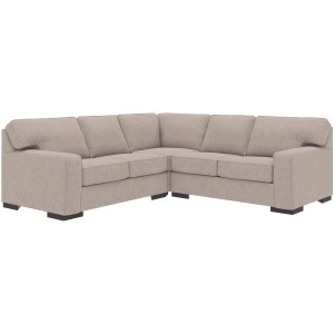Ashlor Nuvella® 3-Piece Sectional