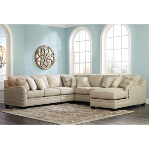 Luxora 5-Piece Sectional with Chaise