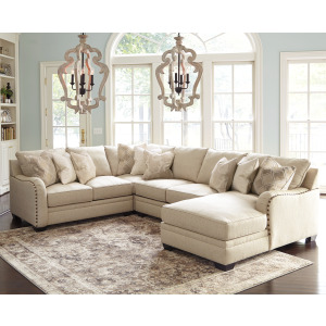 Luxora 4-Piece Sectional with Chaise