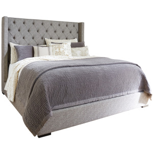 Sorinella King Upholstered Bed with Storage