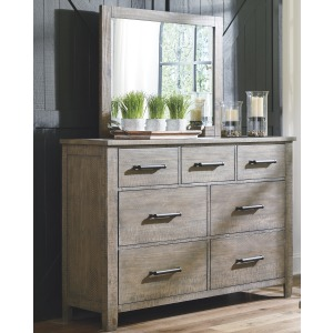 Aldwin Dresser and Mirror
