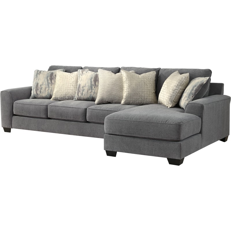 castano 2 piece sectional with chaise
