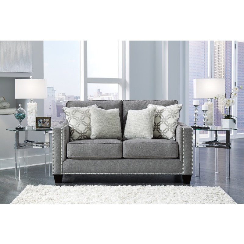 Peachy Barrali Loveseat By Ashley Furniture 1390435 Ashley Ncnpc Chair Design For Home Ncnpcorg