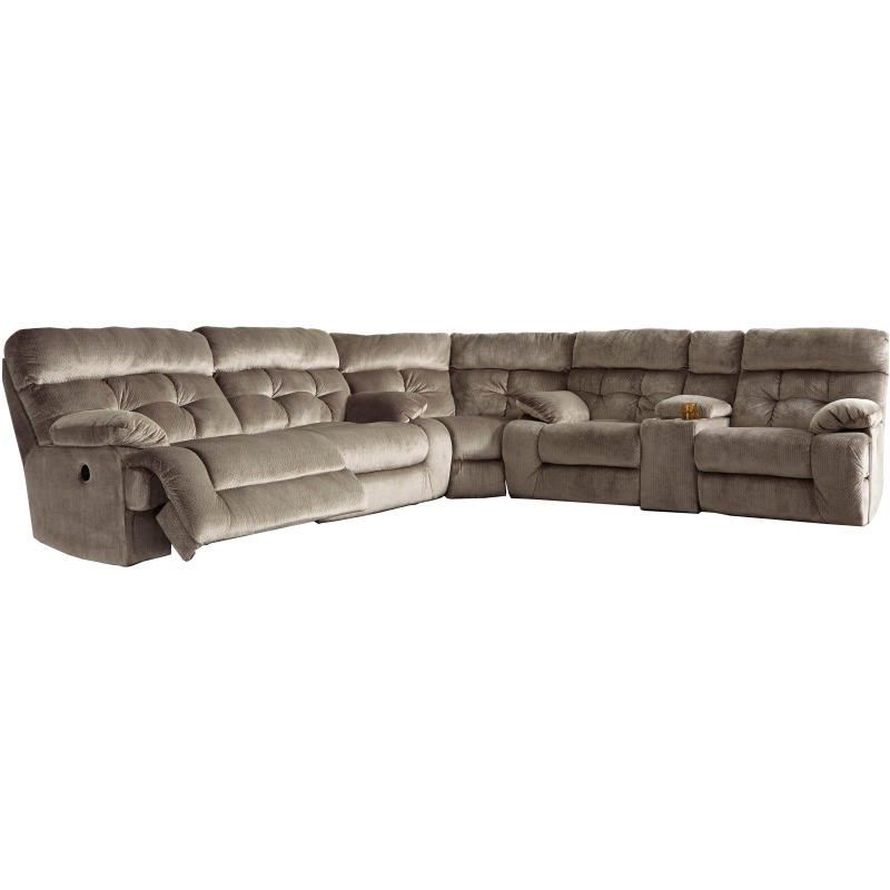 Admirable Brassville 3 Piece Reclining Sectional With Power 17701S1 Spiritservingveterans Wood Chair Design Ideas Spiritservingveteransorg