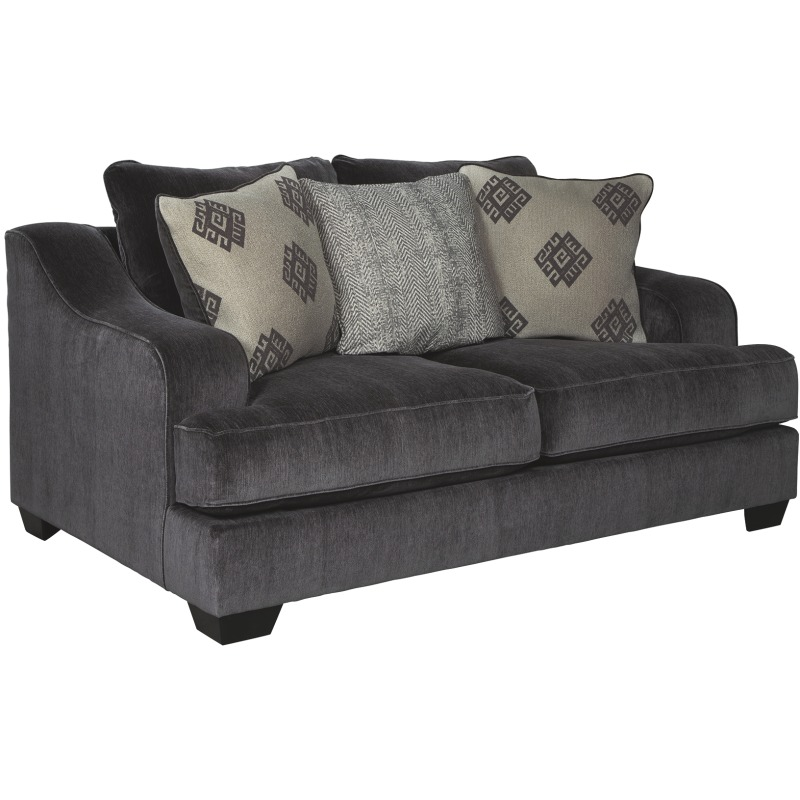 Super Corvara Loveseat By Ashley Furniture 9650235 Rileys Squirreltailoven Fun Painted Chair Ideas Images Squirreltailovenorg
