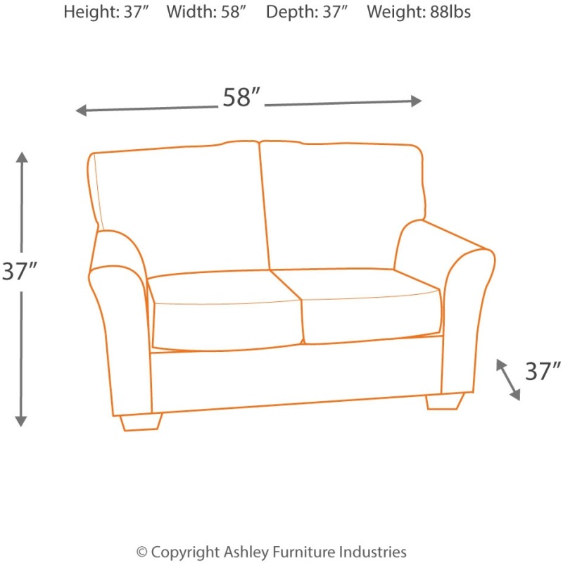 Stupendous Neolan Loveseat 9990135 Ashley Homestore Squirreltailoven Fun Painted Chair Ideas Images Squirreltailovenorg