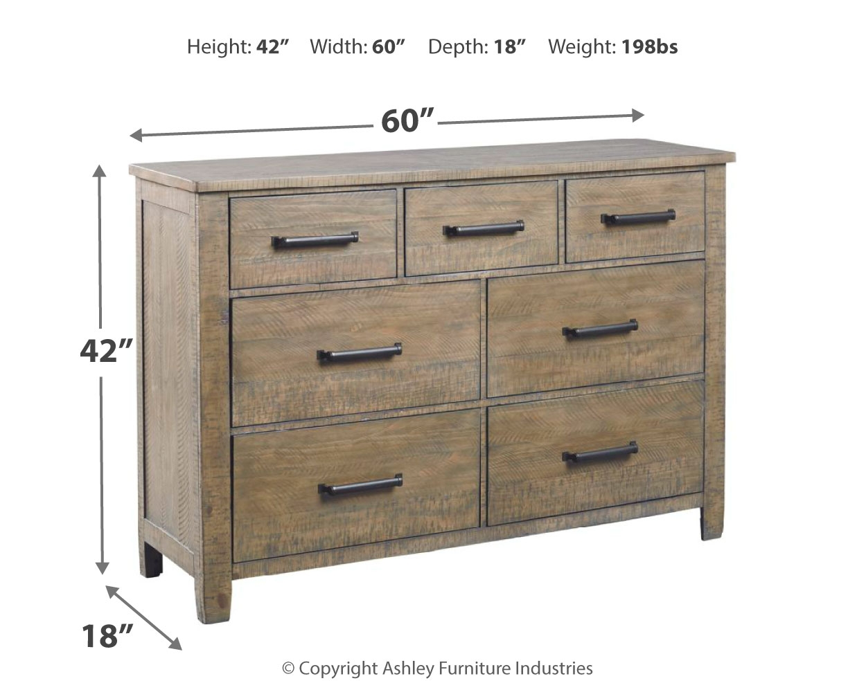 Dresser By Ashley Furniture B617 31