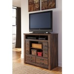 Quinden Media Chest w/ Fireplace Insert