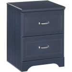 Leo Two-Drawer Nightstand