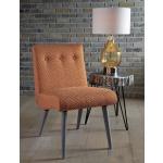Zittan Accent Chair in Papaya