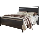 Jazzlyn Queen Panel Bed