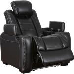 Power Recliner w Adjustable Headrest